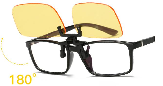 Kẹp kính mở 180 độ